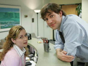 "Jim and Pam from ""The Office"""