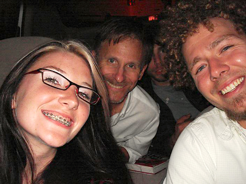 Sarah, Martin, Lars