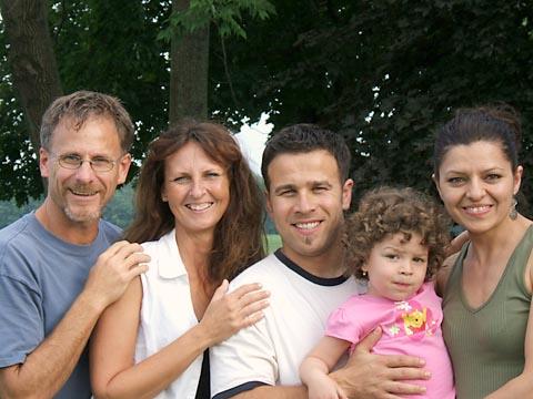 Martin, Melody, Dani, Nicola, Ramona