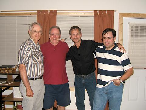 Gene, Charlie, Martin, Jean
