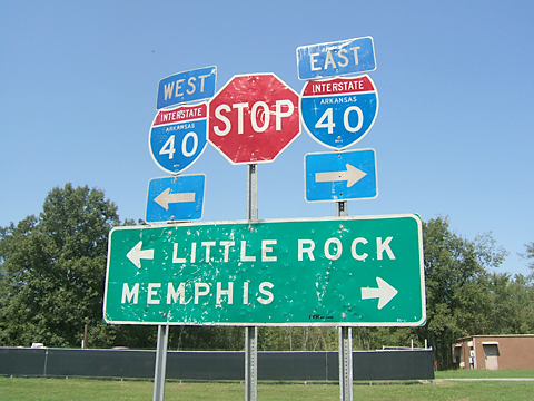 Little Rock or Memphis?