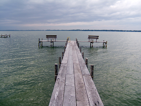 Dock at Clear Lake