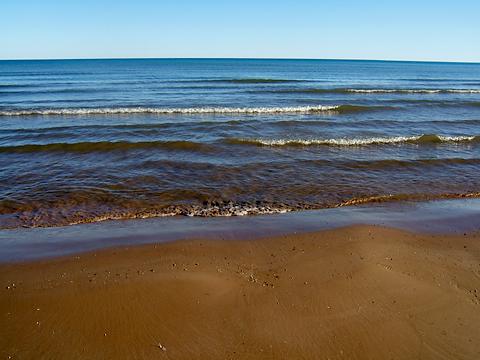 Manistique beach